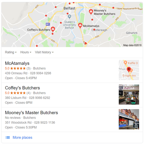 local results SEO